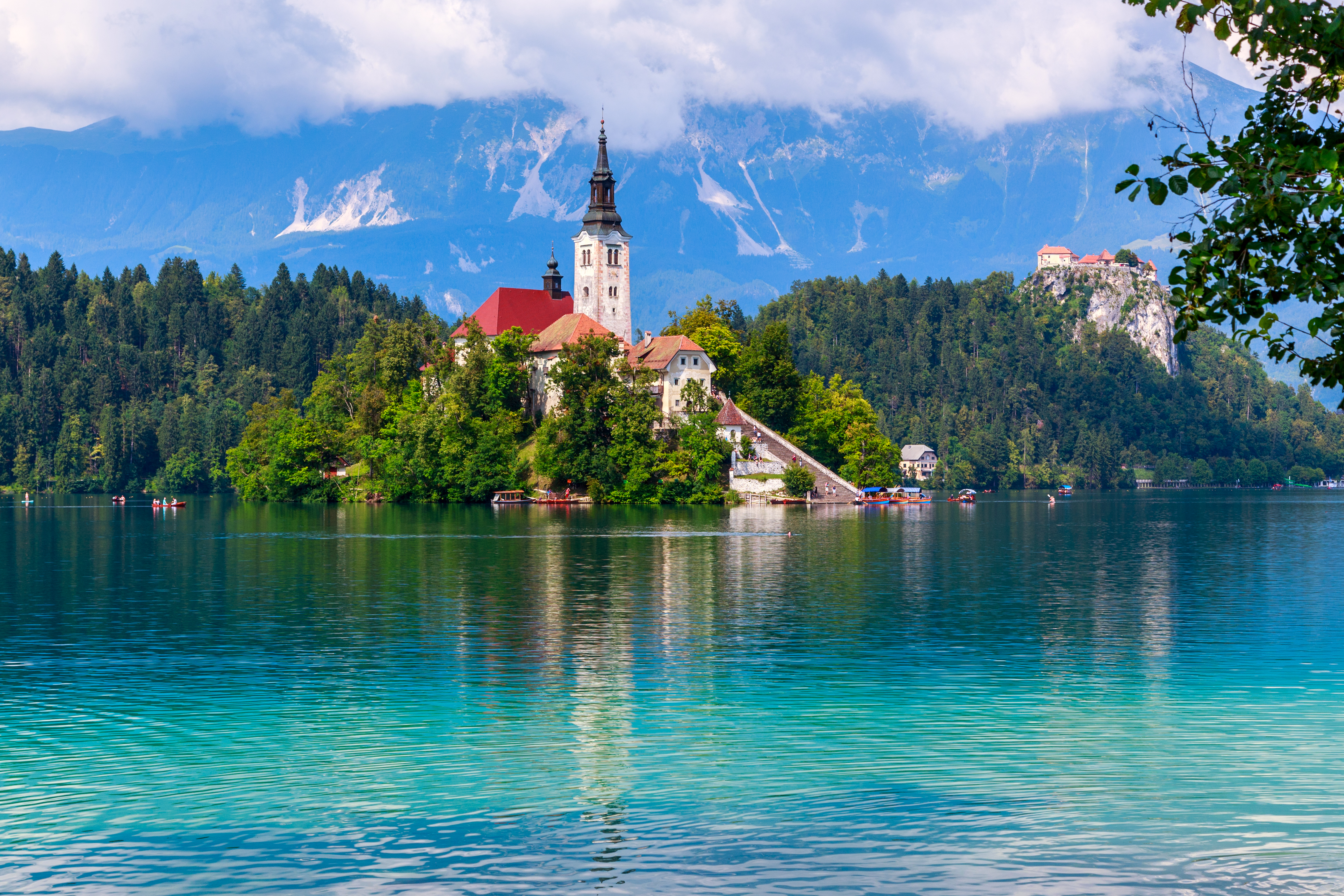 New Year in Lake Bled